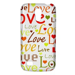 Valentine s day pattern Galaxy S4 Mini