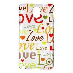 Valentine s day pattern Samsung Galaxy Note 3 N9005 Hardshell Case
