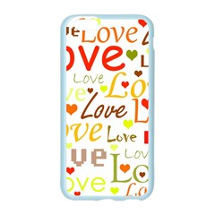 Valentine s day pattern Apple Seamless iPhone 6/6S Case (Color)