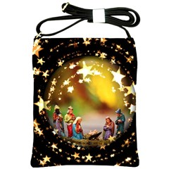 Christmas Crib Virgin Mary Joseph Jesus Christ Three Kings Baby Infant Jesus 4000 Shoulder Sling Bags