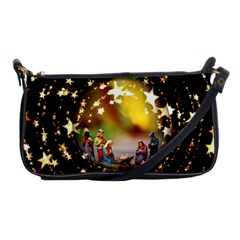 Christmas Crib Virgin Mary Joseph Jesus Christ Three Kings Baby Infant Jesus 4000 Shoulder Clutch Bags