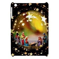 Christmas Crib Virgin Mary Joseph Jesus Christ Three Kings Baby Infant Jesus 4000 Apple iPad Mini Hardshell Case
