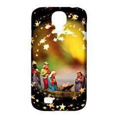 Christmas Crib Virgin Mary Joseph Jesus Christ Three Kings Baby Infant Jesus 4000 Samsung Galaxy S4 Classic Hardshell Case (PC+Silicone)