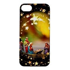 Christmas Crib Virgin Mary Joseph Jesus Christ Three Kings Baby Infant Jesus 4000 Apple iPhone 5S/ SE Hardshell Case