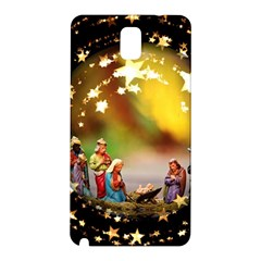 Christmas Crib Virgin Mary Joseph Jesus Christ Three Kings Baby Infant Jesus 4000 Samsung Galaxy Note 3 N9005 Hardshell Back Case