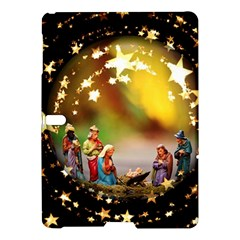 Christmas Crib Virgin Mary Joseph Jesus Christ Three Kings Baby Infant Jesus 4000 Samsung Galaxy Tab S (10.5 ) Hardshell Case