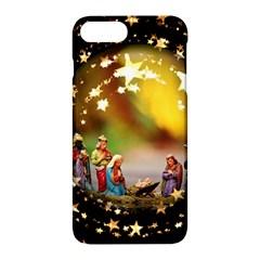 Christmas Crib Virgin Mary Joseph Jesus Christ Three Kings Baby Infant Jesus 4000 Apple Iphone 7 Plus Hardshell Case