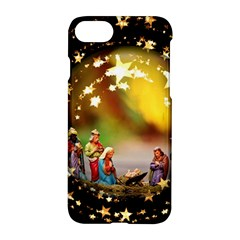 Christmas Crib Virgin Mary Joseph Jesus Christ Three Kings Baby Infant Jesus 4000 Apple Iphone 7 Hardshell Case