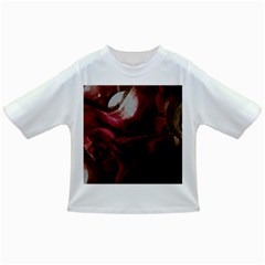 Dark Red Candlelight Candles Infant/Toddler T-Shirts