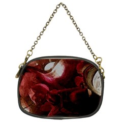 Dark Red Candlelight Candles Chain Purses (Two Sides)