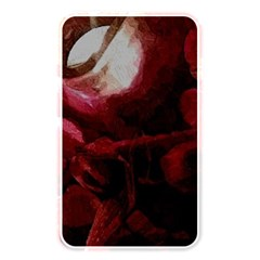 Dark Red Candlelight Candles Memory Card Reader