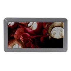 Dark Red Candlelight Candles Memory Card Reader (Mini)