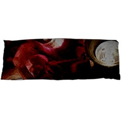 Dark Red Candlelight Candles Body Pillow Case Dakimakura (Two Sides)