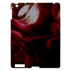 Dark Red Candlelight Candles Apple iPad 3/4 Hardshell Case