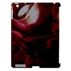 Dark Red Candlelight Candles Apple iPad 3/4 Hardshell Case (Compatible with Smart Cover)