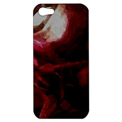 Dark Red Candlelight Candles Apple iPhone 5 Hardshell Case