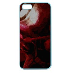 Dark Red Candlelight Candles Apple Seamless iPhone 5 Case (Color)