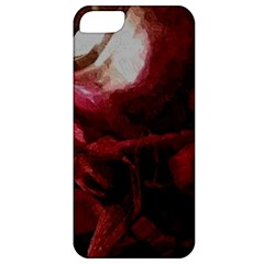 Dark Red Candlelight Candles Apple iPhone 5 Classic Hardshell Case