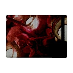 Dark Red Candlelight Candles Apple iPad Mini Flip Case