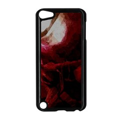 Dark Red Candlelight Candles Apple iPod Touch 5 Case (Black)