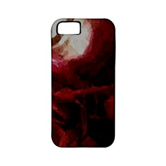 Dark Red Candlelight Candles Apple iPhone 5 Classic Hardshell Case (PC+Silicone)