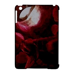 Dark Red Candlelight Candles Apple iPad Mini Hardshell Case (Compatible with Smart Cover)