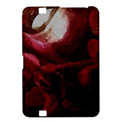 Dark Red Candlelight Candles Kindle Fire HD 8.9