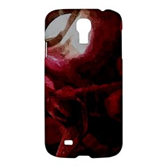 Dark Red Candlelight Candles Samsung Galaxy S4 I9500/I9505 Hardshell Case