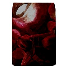 Dark Red Candlelight Candles Flap Covers (S)
