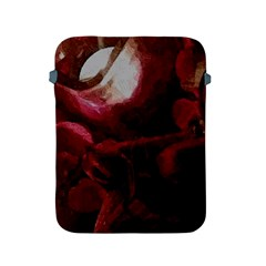 Dark Red Candlelight Candles Apple iPad 2/3/4 Protective Soft Cases