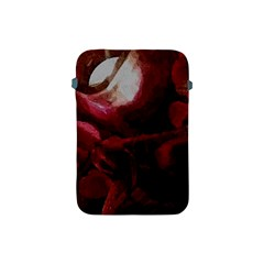 Dark Red Candlelight Candles Apple iPad Mini Protective Soft Cases