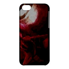 Dark Red Candlelight Candles Apple iPhone 5C Hardshell Case