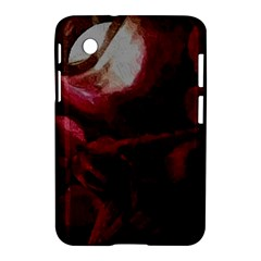 Dark Red Candlelight Candles Samsung Galaxy Tab 2 (7 ) P3100 Hardshell Case