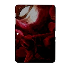 Dark Red Candlelight Candles Samsung Galaxy Tab 2 (10.1 ) P5100 Hardshell Case