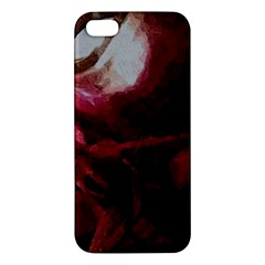 Dark Red Candlelight Candles iPhone 5S/ SE Premium Hardshell Case