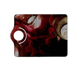 Dark Red Candlelight Candles Kindle Fire HD (2013) Flip 360 Case