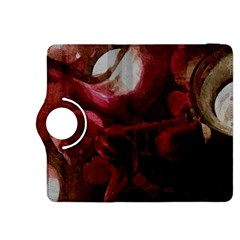 Dark Red Candlelight Candles Kindle Fire HDX 8.9  Flip 360 Case
