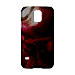 Dark Red Candlelight Candles Samsung Galaxy S5 Hardshell Case