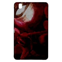 Dark Red Candlelight Candles Samsung Galaxy Tab Pro 8.4 Hardshell Case