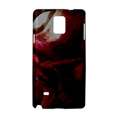 Dark Red Candlelight Candles Samsung Galaxy Note 4 Hardshell Case