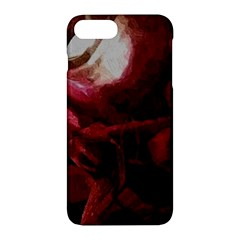 Dark Red Candlelight Candles Apple Iphone 7 Plus Hardshell Case
