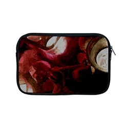 Dark Red Candlelight Candles Apple MacBook Pro 13  Zipper Case