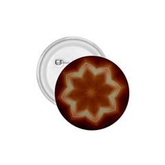 Christmas Flower Star Light Kaleidoscopic Design 1.75  Buttons