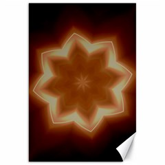 Christmas Flower Star Light Kaleidoscopic Design Canvas 20  x 30