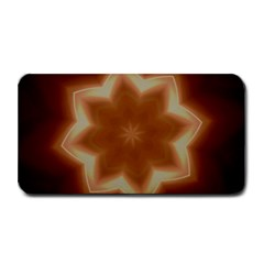 Christmas Flower Star Light Kaleidoscopic Design Medium Bar Mats