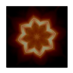 Christmas Flower Star Light Kaleidoscopic Design Face Towel