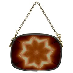 Christmas Flower Star Light Kaleidoscopic Design Chain Purses (Two Sides)