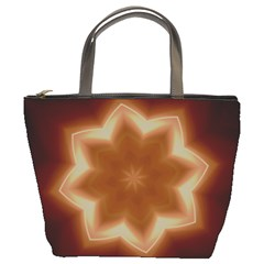 Christmas Flower Star Light Kaleidoscopic Design Bucket Bags