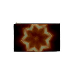 Christmas Flower Star Light Kaleidoscopic Design Cosmetic Bag (Small)