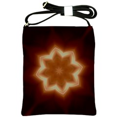 Christmas Flower Star Light Kaleidoscopic Design Shoulder Sling Bags